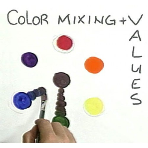 8934 COLOR MIXING AND VALUES