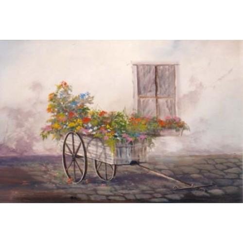 9011 FLOWER CART